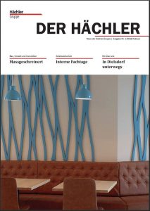 titelseite Firmenzeitung der haechler 1 2018